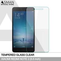 Tempered Glass Xiaomi Redmi Note 2 (5.5)   Anti Gores Kaca - Bening