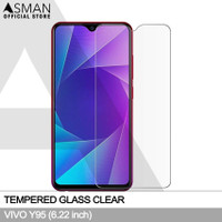 Asman Premium Tempered Glass Anti Gores for Vivo Y95 - Clear