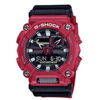 Jam Tangan Pria Casio G-Shock Digital Analog Red Dial GA-900-4ADR