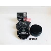 TEETH WHITENING CHARCOAL / PEMUTIH GIGI SYB COSMETICS BPOM 50 GRAM