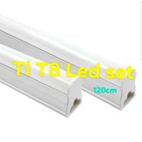 LAMPU TL T8 LED 20W W WATT 120CM CM 1.2M M IZUNLI SNI BUKAN PHILIPS T5