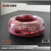 [High Quality] Kabel 2 x 20 AWG [50 Meter]