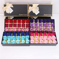 18 pcs Flower Soap + Coklat Valentine,Anniversary, Kado