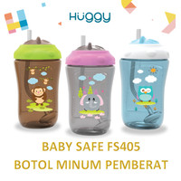 Baby Safe FS405 Botol Minum Pemberat Cup with Weighted Straw 300ml