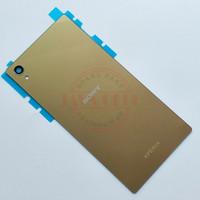 Backdoor- Tutup Belakang Sony Xperia Z5 Premium Original - Gold