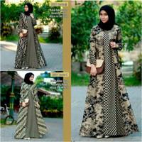 Gamis Batik / Longdress Batik / Baju Lengan Panjang - NO 1