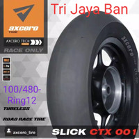 BAN Kingland Axcero CTX-001 Soft Compound ,100/480-12 TL + Free Pentil