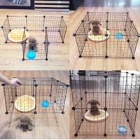 Kandang Hewan Peliharaan / Kandang Anjing /Kandang Kucing Hamster DIY - 35x35 cage 1pcs