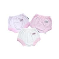 FLUFFY Celana Segitiga Bayi Pink (Isi 3Pcs) CSS PNK S/M/L