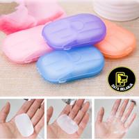 Sabun Kertas Cuci Tangan 20 Pcs Sekali Pakai