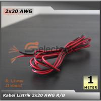 [High Quality] Kabel 2 x 20 AWG [1 Meter]