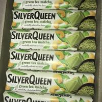 Cokelat Silverqueen Green Tea 65g for 3 pc