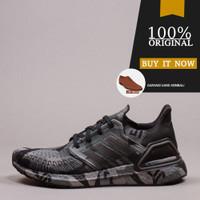 FV8329 Sepatu Running Original Adidas Ultraboost 20 - Black/Grey Four