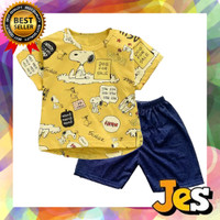 Baju setelan anak laki-laki / Kaos anak laki-laki Dog sale 1-10 Tahun