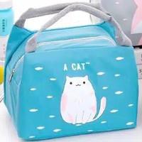 Tas Bekal Lunch Bag Cooler Karakter Tempat Penyimpanan Anak Sekolah