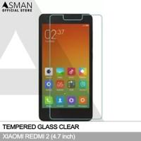 Tempered Glass Xiaomi Redmi 2 (4.7)   Anti Gores Kaca - Bening