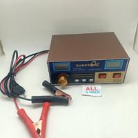 Cas Aki Mobil Motor Fast Charging 12V / 24V 6-400AH Sunpro MF-3S
