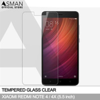 Tempered Glass Xiaomi Redmi Note 4 (5.5)   Anti Gores Kaca - Bening