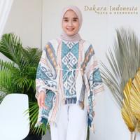 Mahesa Ethnic Top Tenun Ikat Dakara Indonesia