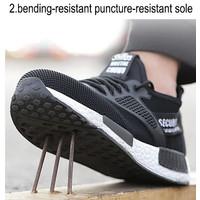 safety shoes sporty unisex ringan original import uk 36-46 hitam trend