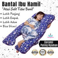 Bantal Hamil Jumbo Maternity Pillow Doraemon |Bantal Ibu Hamil