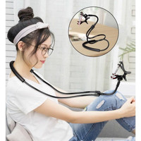 Lazy neck lazyneck cell phone stand mount necklace / Lazypod leher