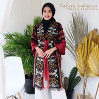 Zeneca Ethnic Kimono Tenun Ikat Dakara Indonesia