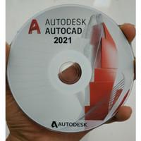 Autodesk AutoCAD 2021 plus Tutorial Dasar sampai Mahir