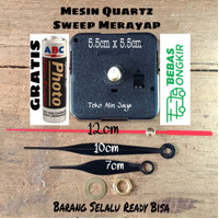 MESIN JAM DINDING SKP SEIKO ORIGINAL - Quartz Sweep