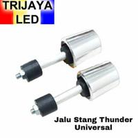 Jalu Stang Bandul Thunder Chrome Ninja Fu Motor Universal Crome Besi