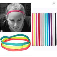 Mini Hair Band Sport Anti Slip Unisex Headband Bandana Olahraga