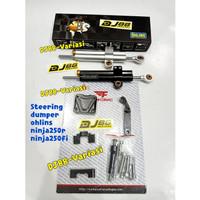 Steering damper ninja 250 fi ohlins stabilizer stang ninja 250r jepit