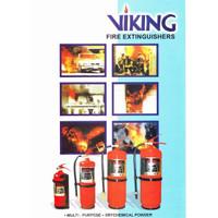 APAR 4 kg VIKING Fire Extinguisher AF 11 Non CFC Clean Agent