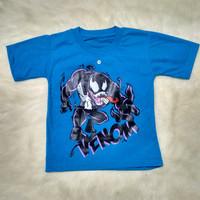 Baju Kaos Anak Laki-laki Lengan Pendek VENOM