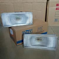 SET Fog Lamp - Lampu Kabut/Bumper/Bamper Fuso Fighter Mica Putih/Clear