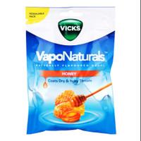 Vicks VapoNaturals Throat Lozenges 19 Drops/Permen Vicks Tenggorokan - Honey
