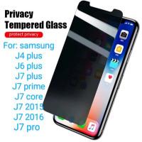 Samsung J4 J6 J7 plus J7 Prime Core Pro Antigores Tempered Glass Spy T