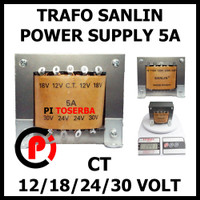 SANLIN Trafo 5A CT 30V Transformator Power Supply Step Down 30 Volt