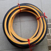 Ban Luar Sepeda Kuning Ukuran 16 20 24 x 1.75 Lucky Stone