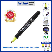 ARTLINE Spidol Supreme Permanent Marker EPF-700UV - GLOW YELLOW
