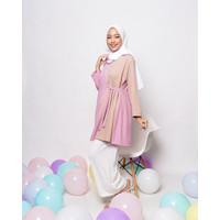 ZYCA CC306 Baju Atasan Muslim Wanita Tunik - All Size / Jumbo