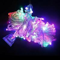lampu Natal LED /lampu tumbri lampu hias kelap kelip 10meter 10m