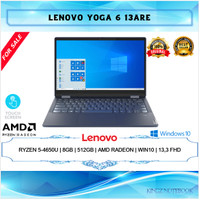 Lenovo Yoga Ryzen 5-4650U Pro 8GB 512GB Win10 13,3 FHD Touch (Yoga 6)