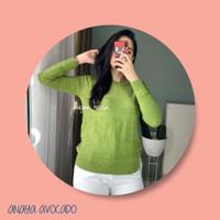 Atasan Wanita    Knit    Rajut - Pink