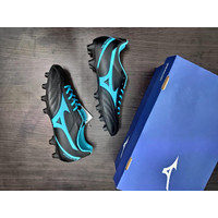 Sepatu Bola Mizuno Monarcida Neo Select (black blue)