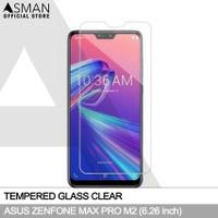 Tempered Glass Asus Zenfone Max Pro (M2) | Anti Gores Kaca - Bening