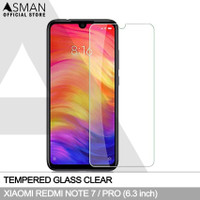 Tempered Glass Xiaomi Redmi Note 7 (6.3)   Anti Gores Kaca - Bening