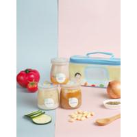 Weekly Plan - Grouu Gourmet Baby Food MPASI Catering - Stage1-6Bulan+