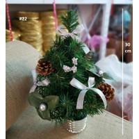 Pohon Natal Kecil Dekorasi Meja / Small Christmas Tree Decoration