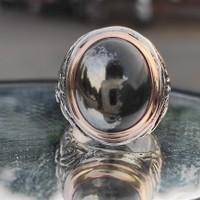 cincin batu galih kelor badar emas
